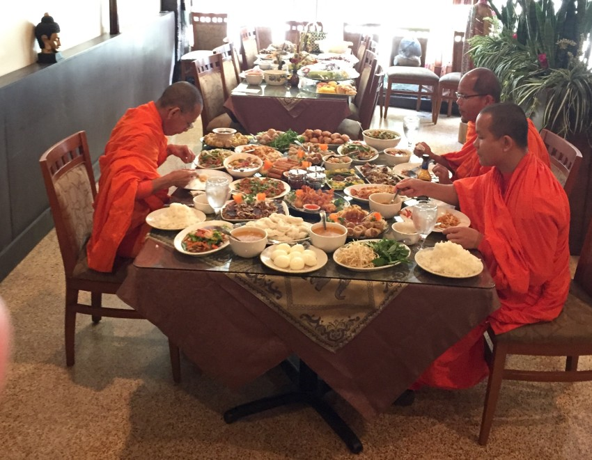 Monks Blessing Restaurant